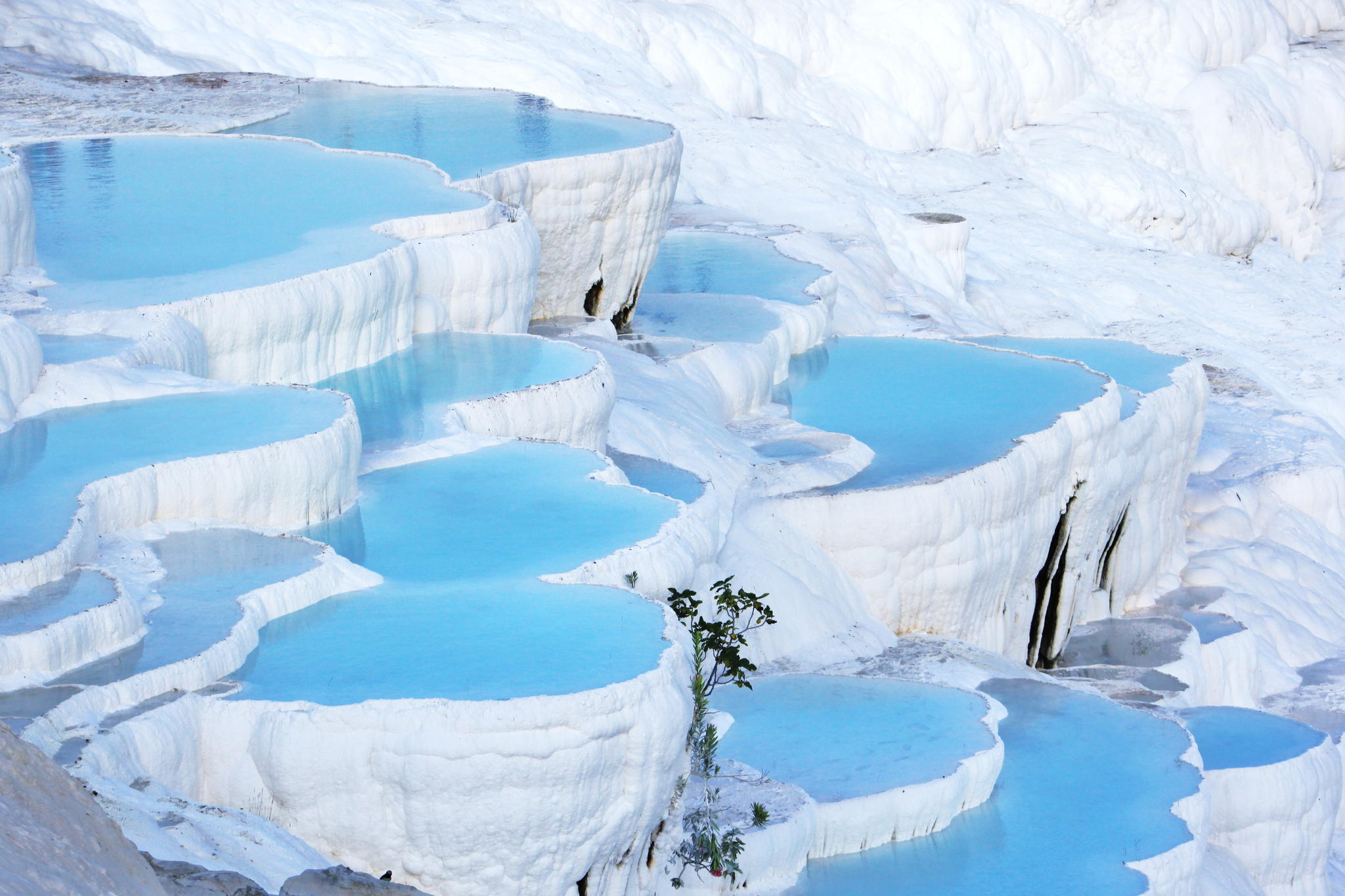 Pools of pamukkale turkey somewhere for Travertine eye drops